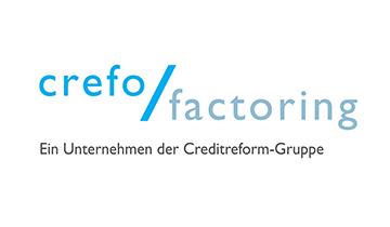 Logo von Crefo Factoring