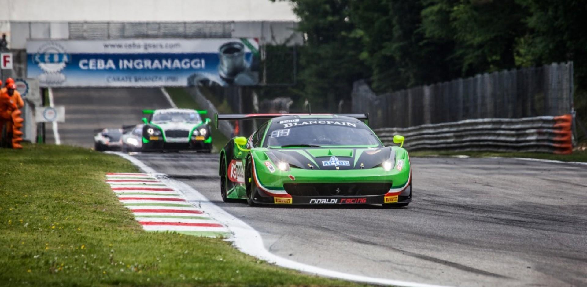 Durchfahrtsstrafe verhindert Top-Ergebnis für Norbert Siedler in Monza