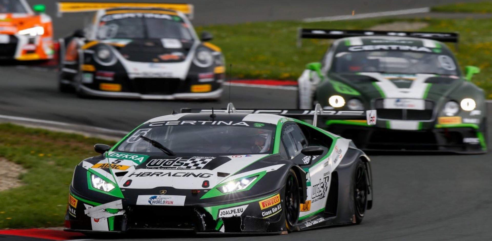 Norbert Siedler bei Lamborghini-Premiere nur knapp an den Punkten vorbei