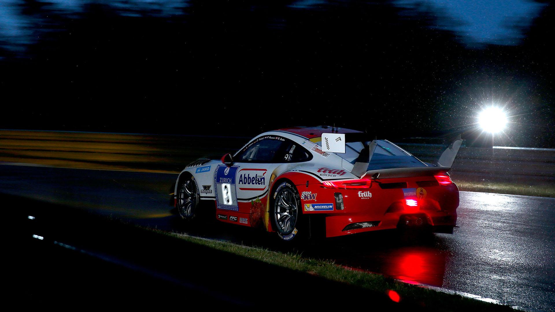 Kein Glück für Norbert Siedler im Wetter-Chaos auf dem Nürburgring
