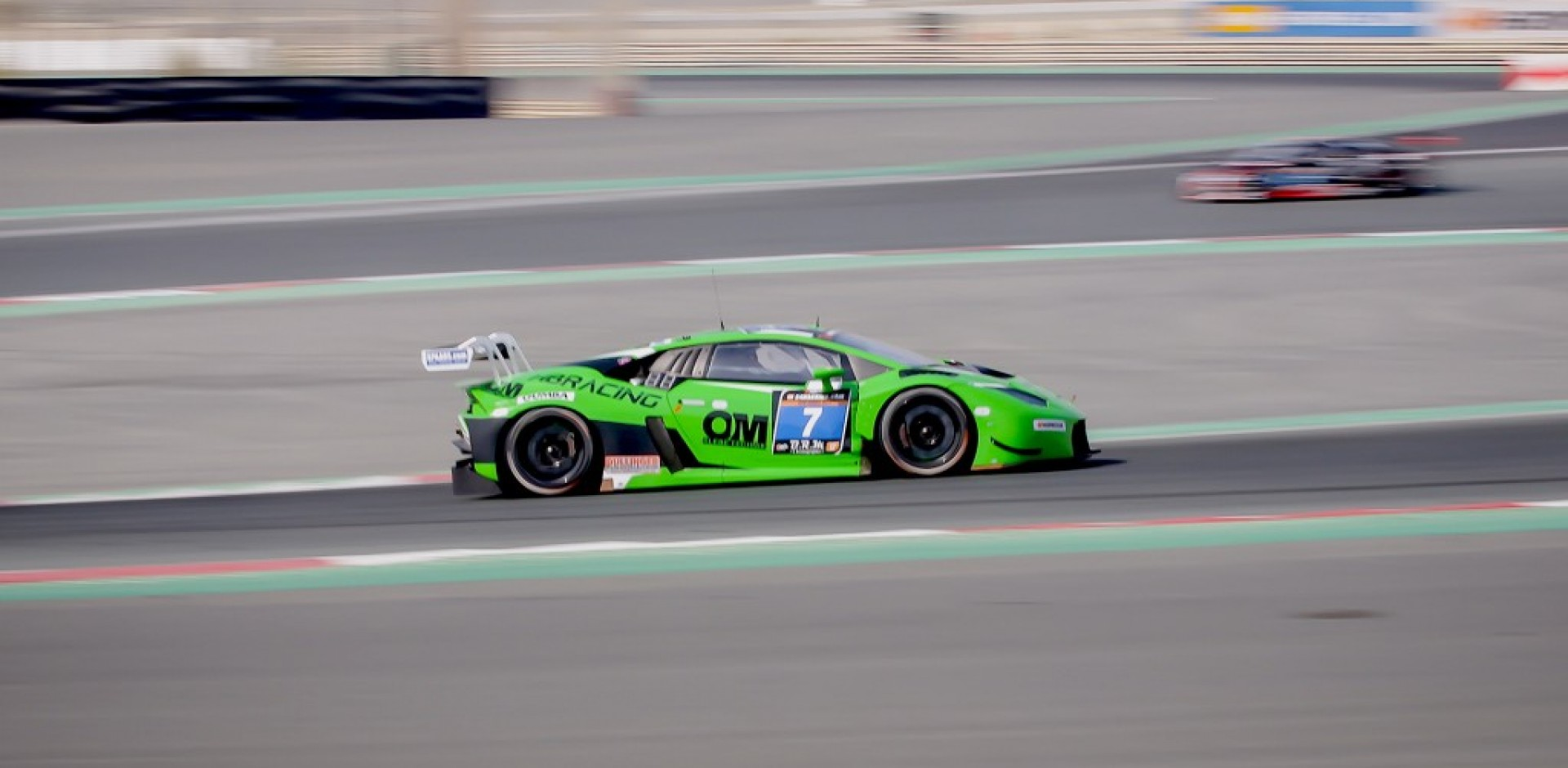 Fire leads to an early end of Norbert Siedler's Dubai 24 Hours