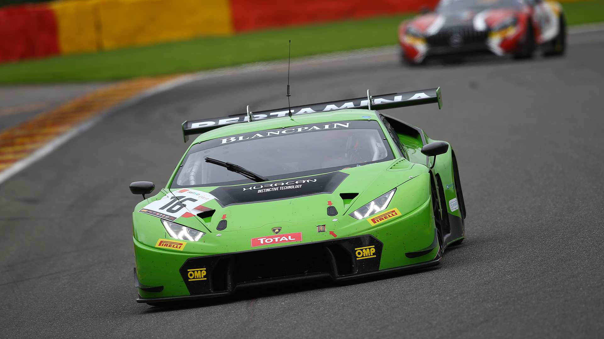Zwei Mal Lamborghini: Norbert in GT Masters und Blancpain GT Series im Huracán
